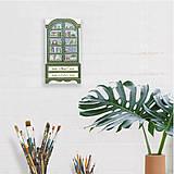 Dekorácie - Miniatúrna starožitná skrinka - Rakúsko, kópia - 10431811_