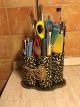 Pomôcky - Stojan na ceruzky a štetce - 10433679_