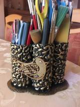 Pomôcky - Stojan na ceruzky a štetce - 10433680_