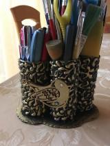 Pomôcky - Stojan na ceruzky a štetce - 10433681_