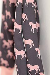 """Detské oblečenie - Softshellky """"horses"""" !výpredaj! - 10430654_"""