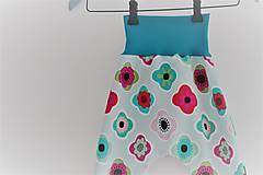 """Detské oblečenie - Softshellky """"flowers"""" !výpredaj! - 10430681_"""