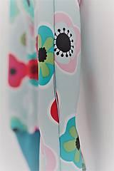 """Detské oblečenie - Softshellky """"flowers"""" !výpredaj! - 10430683_"""