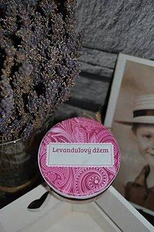 Potraviny - Levanduľový džem - chutný a zdravý zároveň/sladený stéviou - 10432402_