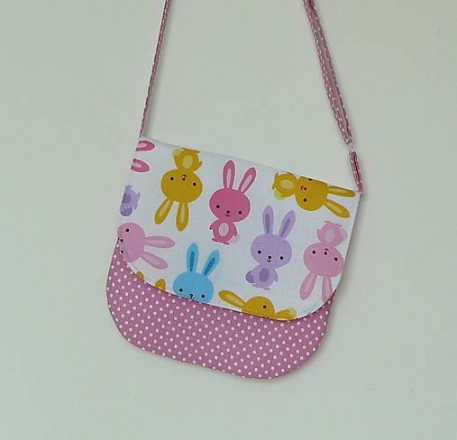 Detská kabelka zajačiky