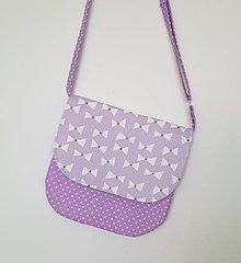 Detské tašky - Detská kabelka fialková - 10433335_