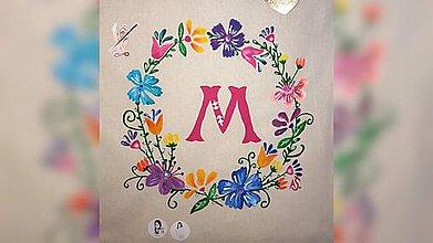 Iné tašky - ♥ Plátená, ručne maľovaná taška ♥ - 10432470_