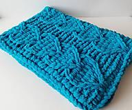 Textil - Pletená deka - 10433481_