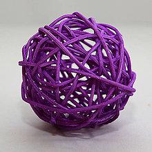 Iný materiál - Dekoračné gule z pedingu - 10431115_