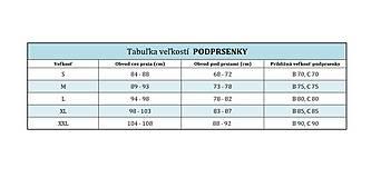 Bielizeň/Plavky - Športová podprsenka z bio bavlny GOTS - hory - 10431368_