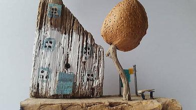 Dekorácie - Domček na samote - 10431919_