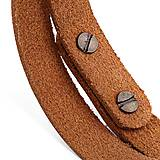Náramky - Kožený náramok Pugnus Dilutus - 10432730_