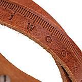 Náramky - Kožený náramok Pugnus Dilutus - 10432732_