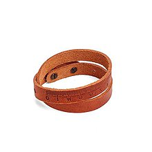 Náramky - Kožený náramok Pugnus Dilutus - 10432728_