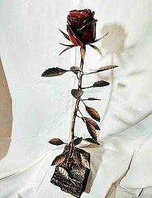 Socha - Drevená ružička - 10434210_