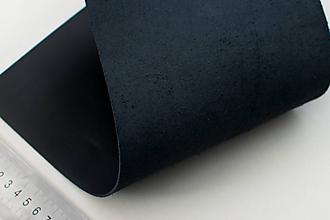 Suroviny - Zbytková koža čierna - 10432543_