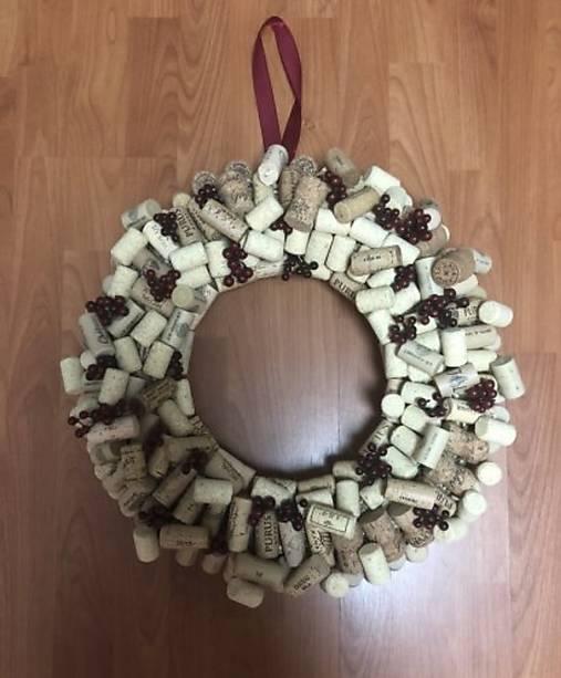 9fbc760ab Handmade veniec z korkov / Korkove - SAShE.sk - Handmade Dekorácie