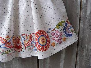 Detské oblečenie - Detská suknička biela - 10431196_