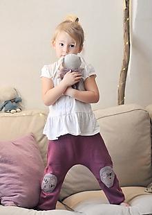 Detské oblečenie - Turky růžovofialové - 10432078_