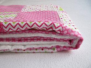 Textil - farebný svet... (cca 65 x 100 cm - Ružová) - 10430630_