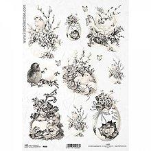 Papier - Ryžový papier R668 - A4 - 10433200_
