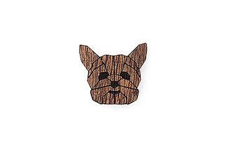 Odznaky/Brošne - Drevená brošňa Yorkshire Brooch - 10436459_
