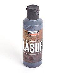 Farby-laky - Lazúra na drevo, 80 ml, eben - 10436679_