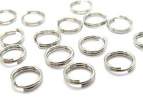 Komponenty - Dvojité spoj.krúžky 5x0,5mm /M1325/ - chir.oceľ 316L - 10435306_