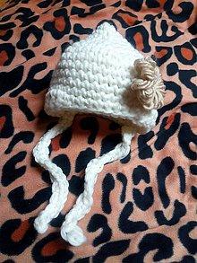 Detské čiapky - Kojenecká čepička - 10436270_