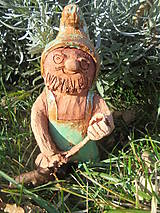 Dekorácie - Trpaslík do exteriéru, keramika - 10435270_