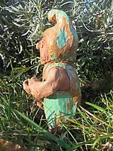 Dekorácie - Trpaslík do exteriéru, keramika - 10435310_