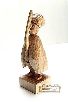 Socha - Fujarista - drevená soška - 10436551_