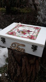 Krabičky - Čajova krabička - 10437637_