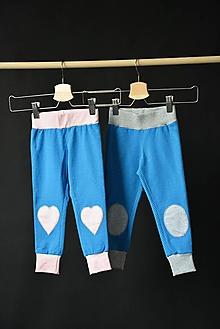 Detské oblečenie - Alex nohavice (pink) - 10436274_