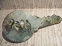 Dekorácie - Vešiačik na kľúče - 10437475_