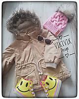 Detské čiapky - Ružová čiapka - 10435551_