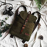Batohy - Batoh Thea (zelený) - 10435925_