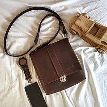 Tašky - Ryder - kožená brašňa - 10435011_
