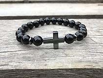 Šperky - Náramok - ónyx  - 10434839_