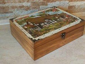 Krabičky - Veľká krabica na všeličo - Na chalupe - 10436829_