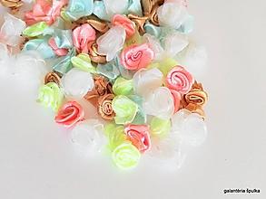 Galantéria - textilná ruža-výpredaj 0,02€ - 10436846_
