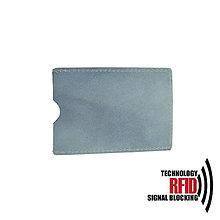 Peňaženky - RFID ochranné púzdro na karty, svetlo fialové - 10436964_