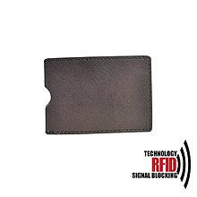 Peňaženky - RFID ochranné púzdro na karty, tmavo hnedé - 10436969_
