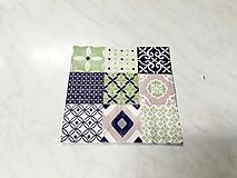 Papier - Servítka ornamenty - 10437997_