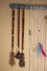 Náhrdelníky - Bohémsky náhrdelník so strapcami - 10435046_