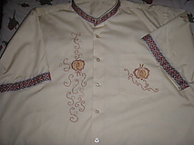 Košele - Pánska košeľa - 10437995_