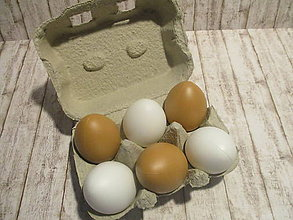 Polotovary - Plastové vajíčka - 10437650_