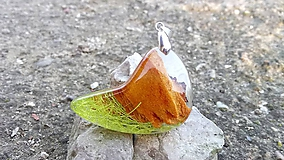 Náhrdelníky - Prívesok Green Nature II - 10437874_