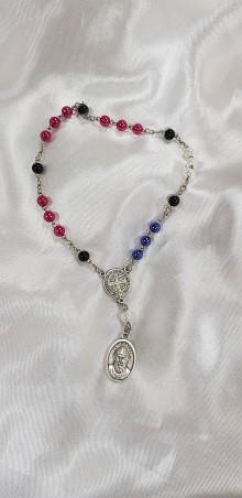Nezaradené - Ručne vyrobený ruženec k sv. Šarbelovi - Charbelovi - 10435421_