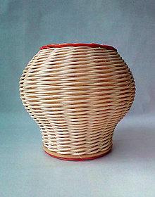 Dekorácie - Váza dekoračná - guľatá - 10435372_